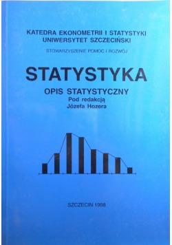Statystyka opis statystyczny