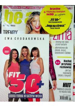 Be active Nr 1 + DVD z treningiem FIT 50+ NOWA