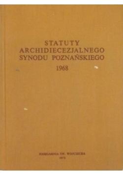 Statuty archidiecezjalne synodu poznańskiego