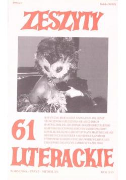 Zeszyty literackie 61 1/1998