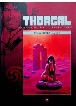 Thorgal Strażniczka kluczy Tom 17