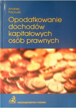 Opodatkowanie Dochodów Kapitałowych Osób Prawnych