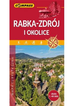 Mapa turystyczna - Rabka-Zdrój i okolice 1:40 000
