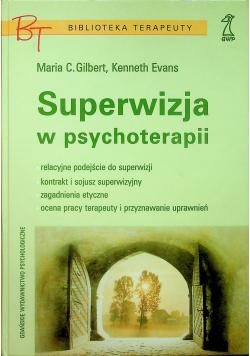 Superwizja w psychoterapii