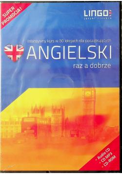 Angielski raz a dobrze książka plus 3 CD