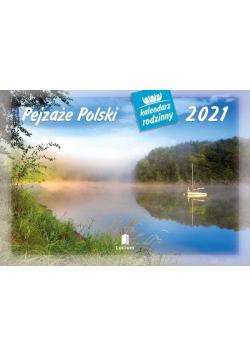 Kalendarz 2021 Rodzinny Pejzaże Polski WL3
