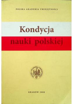 Kondycja nauki polskiej