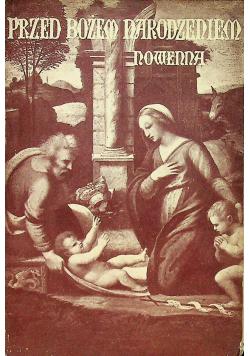 Nowenna Rozmyślań przed świętem Bożem Narodzeniem 1936 r.