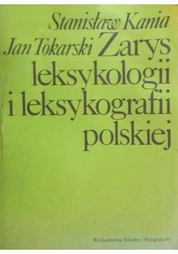 Zarys leksykologii i leksykografii polskiej