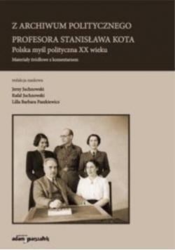 Z archiwum politycznego profesora Stanisława Kota