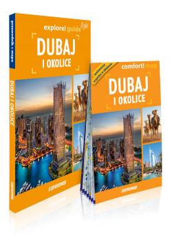 Dubaj i okolice light explore quide przewodnik + mapa