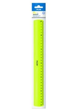 Linijka 30 cm żółta MILAN