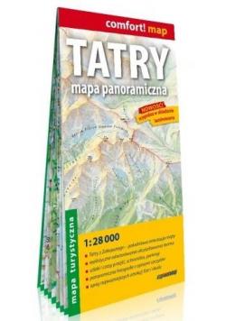 Comfort! map Tatry 1:28 000 mapa turystyczna
