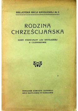Rodzina Chrześcijańska 1927 r.