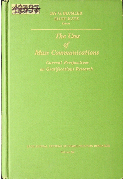 The uses of mass communications