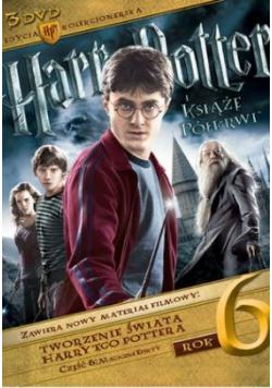 Harry Potter i Książę Półkrwi 3 płyty DVD NOWA