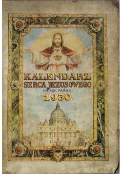 Kalendarz Serca Jezusowego na rok pański 1930