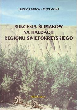 Sukcesja ślimaków na hałdach regionu świętokrzyskiego