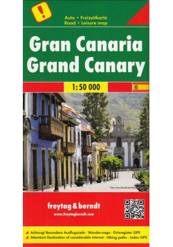 Mapa samochodowa - Gran Canaria 1:50 000