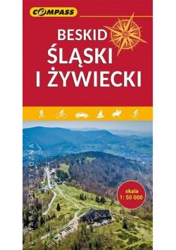Mapa turystyczna - Beskid Śląski i Żywiecki w.2020