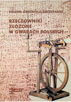 Rzeczowniki złożone w gwarach polskich