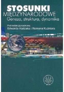 Stosunki międzynarodowe Geneza struktura dynamika