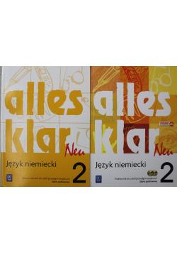 Alles klar Neu 2 zakres podstawowy język niemiecki podręcznik i ćwiczenia