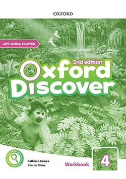 Oxford Discover 2E 4 WB + online practice