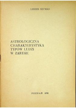 Astrologiczna charakterystyka typów ludzi w zarysie