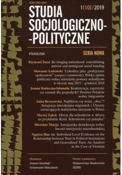 Studia Socjologiczno-Polityczne 1/10/2019