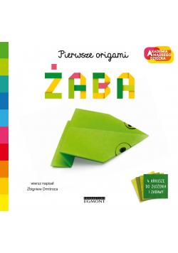 Żaba. Akademia mądrego dziecka. Pierwsze origami