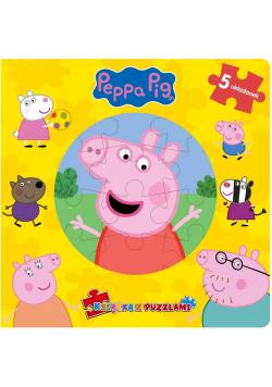 Peppa Pig. Książka z puzzlami