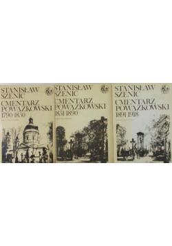 Cmentarz Powązkowski 3 tomy