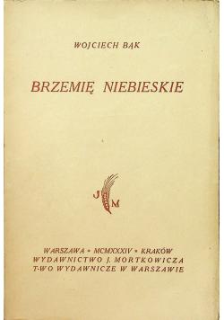 Brzemię niebieskie 1934 r
