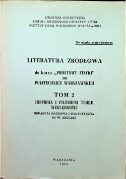Literatura źródłowa do kursu Podstawy Fizyki na Politechnice Warszawskiej tom  II