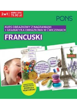 Obrazkowy francuski kurs i gramatyka w ćwiczeniach