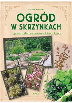 Ogród w skrzynkach. Uprawa roślin przyprawowych..