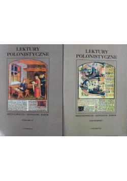 Lektury Polonistyczne Tom I i II