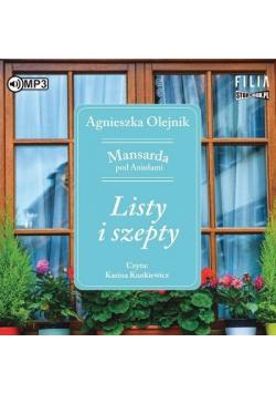Mansarda pod Aniołami T.2 Listy i szepty audiobook