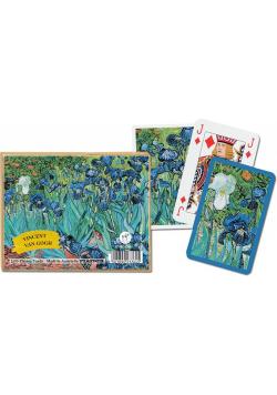 "Karty standard ""Van Gogh, Irysy"" PIATNIK"