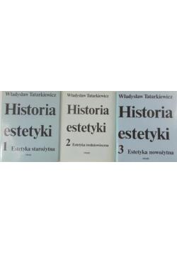 Historia estetyki Tom od I do III