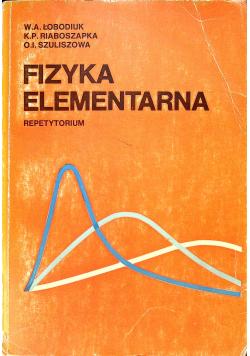 Fizyka elementarna repetytorium