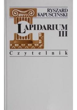 Lapidarium III