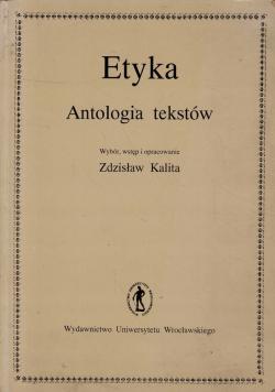 Etyka Antologia tekstów