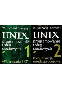 Unix programowanie usług sieciowych tom I i II