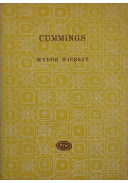 Wybór wierszy Cummings