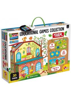 Kolekcja gier edukacyjnych Farma
