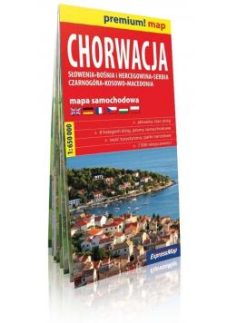 Premium!map Chorwacja 1:650 000 w.2019