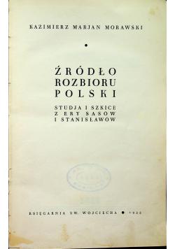 Źródło rozbioru Polski 1935 r