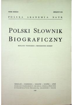 Polski słownik biograficzny Tom XXXI/4 zeszyt 131